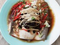 全聯食譜之爸爸回家做晚飯-豆豉蒸虱目魚肚