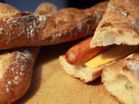 棍子麵包三明治