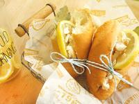 晨光檸檬魚法式堡