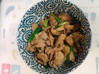 香菇炒豬肉