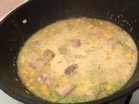 白醬蔬菜肉肉燴飯