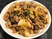 [減醣]肉末炒泡菜