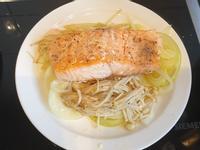 氣炸鍋奶油鮭魚