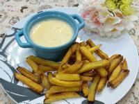 起司薯條 (超簡單,親子互動)剩食料理