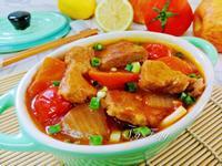 蕃茄燉豬梅花肉