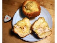 餡料適合低醣飲食的★焗烤雞柳★麵包碗