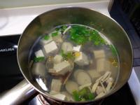 蛤蠣豆腐湯
