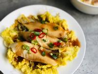 清蒸鯛魚娃娃菜