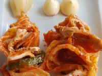 泡菜大蒜蕗蕎肉串