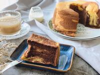 「大理石戚風蛋糕」親友聚會、野餐首選