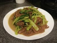 通菜炒牛肉
