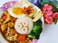 日式食蔬咖哩飯
