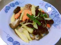 香菇玉米筍