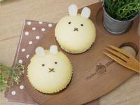 療癒系「小兔蒸蛋糕」好簡單的蛋香味。