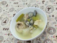 冬瓜皮蛤蠣雞湯(超好喝)
