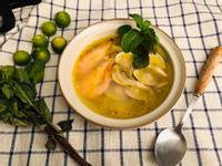 自榨水果橄欖油~橙香海鮮魚湯!快速去腥