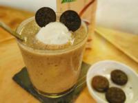 熊貓愛香蕉米漿冰沙