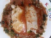 電鍋韓國泡菜蒸雕魚片