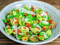鮮椒炒蜆(炒蜆仔肉不掉和蛤蜊吐沙方法)