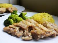影片◆南洋風味薑黃椰汁雞飯◆簡單電鍋料理