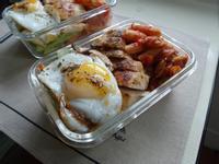【減脂便當】茄汁蛤蜊義麵&香料雞胸
