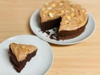 巧克力蛋糕+巧克力奶霜