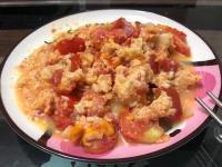 氣炸番茄炒蛋/氣炸鍋炒蛋