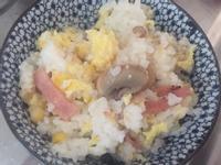蘑菇蛋粟米炒飯