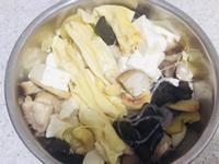 腐竹豆腐粉絲雞湯煲