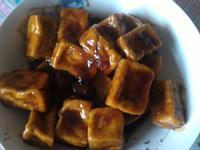 梅汁香酥豆腐