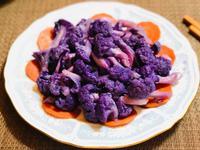 清炒紫花椰菜