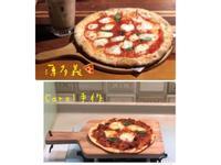"""自製薄皮pizza- """"瑪格麗特""""篇😋"""