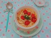 溫潤而層次豐富的日式柚子胡椒番茄湯麵