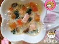 寶寶豆乳燉鮭魚