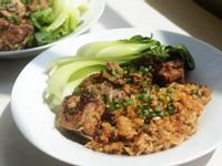 影片◆超簡單!豆豉排骨蒸飯|電鍋料理