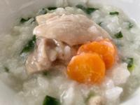 寶寶感冒餐-蔥雞湯粥