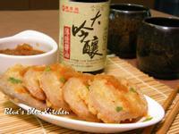 萬家香大吟釀薄鹽醬油-藕片蝦泥天婦羅