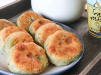 香蔥餡餅 家裡常備材料就可以做出美味點心