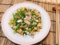 鹹蛋蔬菜豬肉:10分鐘上菜