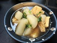 蘿蔔豆皮清煮