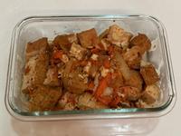 泡菜炒油豆腐