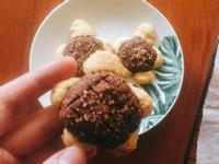 巧克力菠蘿烏龜小餅乾🐢🍫🍪