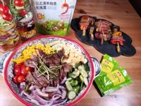 日式和風柚子沙拉