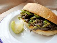 埃及風味牛肝三明治