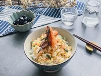 日式蟹肉飯