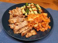 韓式烤豬五花拼盤