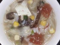電鍋高麗菜蕃茄玉米粥