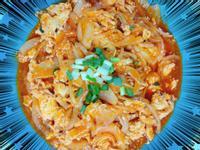 茄汁鯖魚洋蔥炒蛋