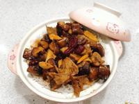 素食香菇滑雞蒸飯! 自家製素雞+紅棗💕
