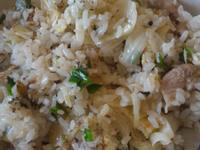高麗菜肉片炒飯